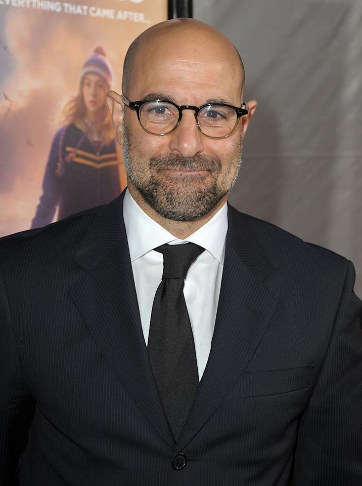 """<a href=""""http://movies.yahoo.com/movie/contributor/1800018595"""">Stanley Tucci</a> at the Los Angeles premiere of <a href=""""http://movies.yahoo.com/movie/1809795078/info"""">The Lovely Bones</a> - 12/07/2009"""