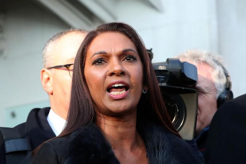 Historic: Gina Miller won a landmark case against the Government in the High Court in January: Getty Images