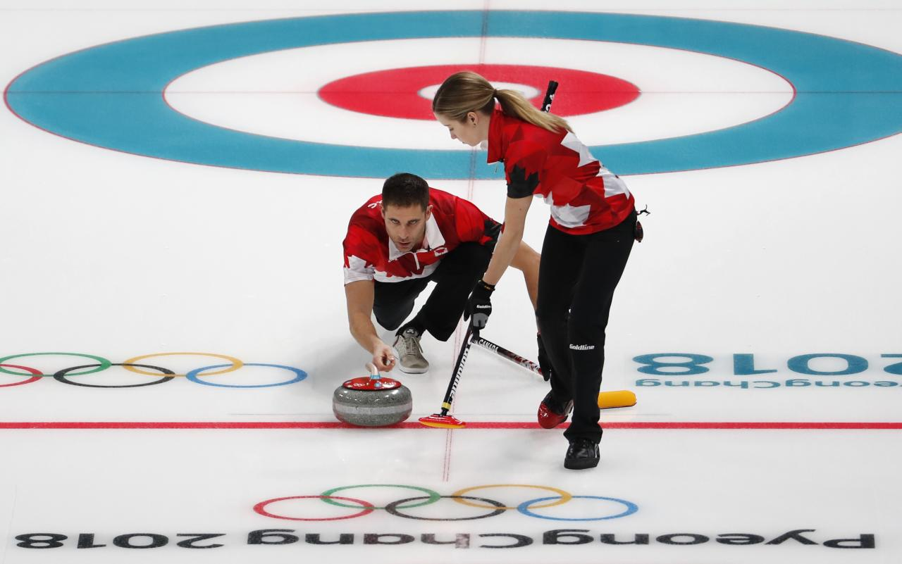 <p>Gold:$15,000 USD<br /> Silver: $11,000 USD<br /> Bronze: $8,000 USD<br /> Canada's Kaitlyn Lawes and John Morris won the gold medal in curling (mixed doubles) at the Pyeongchang 2018 Winter Olympics.<br /> (REUTERS/Cathal McNaughton) </p>