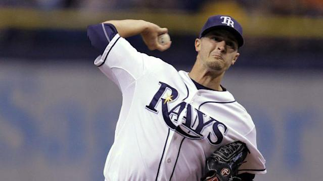 Jake Odorizzi is the type of proven middle-of-the-rotation option the Blue Jays should be pursuing. (Getty Images)
