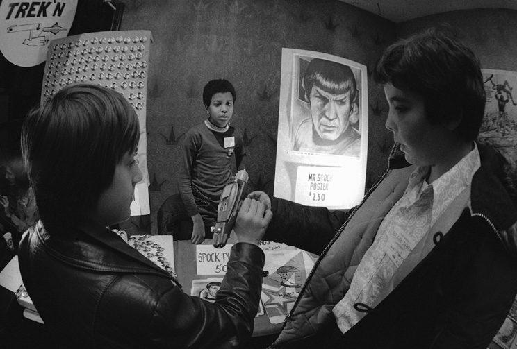 'Star Trek' convention at a New York Hotel, Monday, Feb. 18, 1974. (Credit: AP Photo)