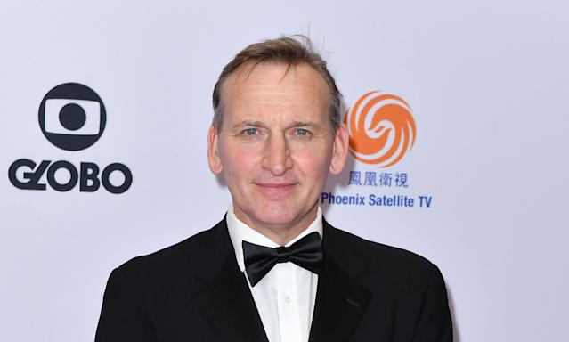Christopher Eccleston pictured at the 47th Annual International Emmy Awards last November. (AFP via Getty Images)