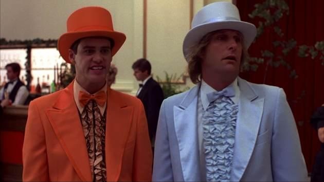 Jim Carrey and Jeff Daniels in 'Dumb and Dumber' -- New Line Cinema