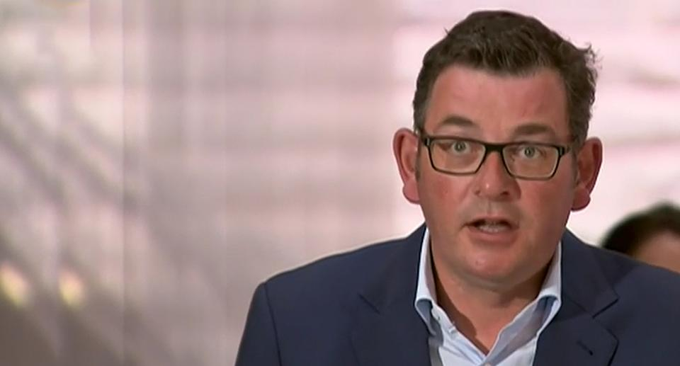 Dan Andrews has hinted the state will be able to lift its lockdown on Wednesday. Source: ABC
