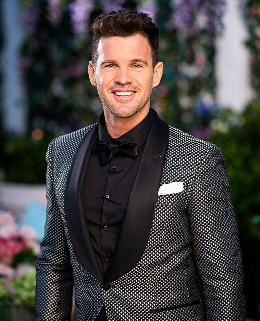 His appearance on The Bachelorette isn't Harry Harris's first foray into reality TV. Photo: Channel 10.