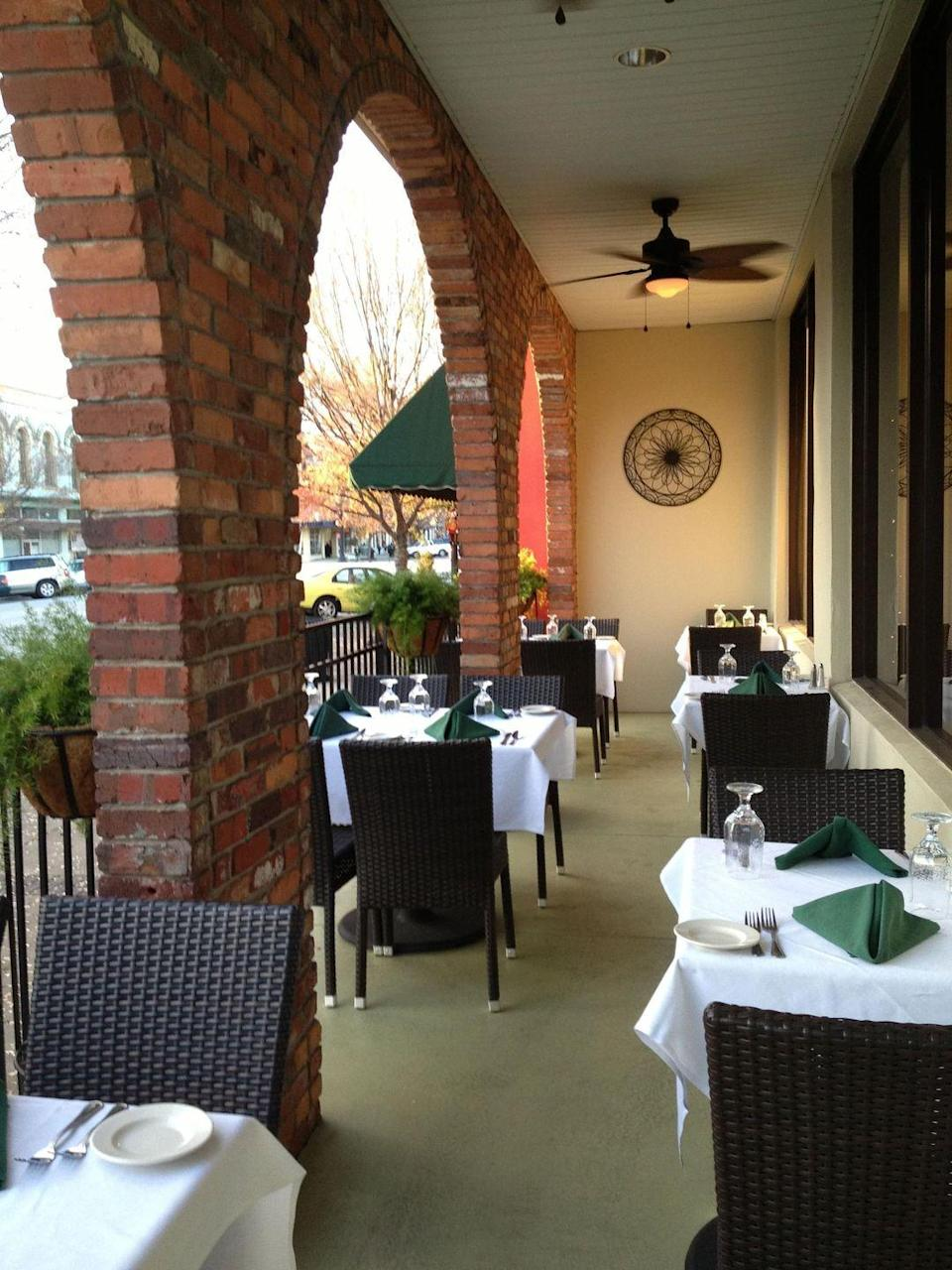 """<p>This <a href=""""https://www.tripadvisor.com/Restaurant_Review-g35310-d7130227-Reviews-The_Plaza_Restaurant_Oyster_Bar-Thomasville_Georgia.html"""" rel=""""nofollow noopener"""" target=""""_blank"""" data-ylk=""""slk:storied Southern spot"""" class=""""link rapid-noclick-resp"""">storied Southern spot</a> recently celebrated its 100th anniversary in operation. It started up in 1916 and is still going strong, offering cocktails, lunch, and dinner service and homemade desserts—including their famous homemade pies—to Thomasville<span class=""""redactor-invisible-space""""> residents.</span></p>"""