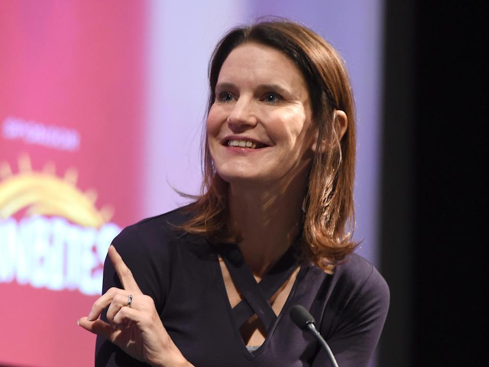 Susie Dent's book was accidentally sent out to booksellers before its release date (Getty Images)