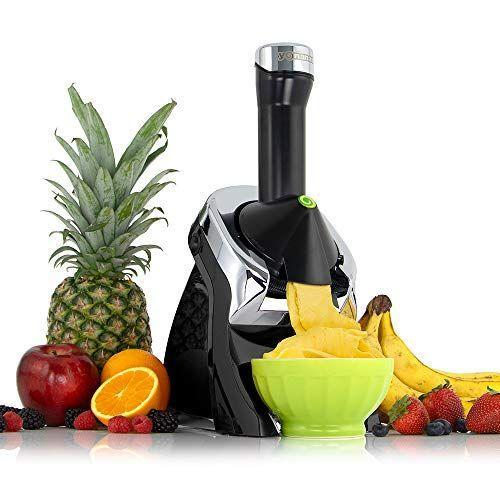"""<p><strong>Yonanas</strong></p><p>amazon.com</p><p><strong>$143.97</strong></p><p><a href=""""https://www.amazon.com/dp/B08DL4BBSL?tag=syn-yahoo-20&ascsubtag=%5Bartid%7C2164.g.36080315%5Bsrc%7Cyahoo-us"""" rel=""""nofollow noopener"""" target=""""_blank"""" data-ylk=""""slk:Shop Now"""" class=""""link rapid-noclick-resp"""">Shop Now</a></p><p>This maker is a good choice if you love """"nice"""" cream or are looking to a lighter alternative to traditional dairy ice cream. You simply put your fruit straight into this maker and it creates the perfect frozen treat. </p>"""