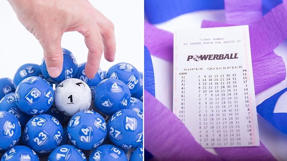 The numbers for Powerball's draw number 1291 are in, with $30 million up for grabs. Source: The Lott