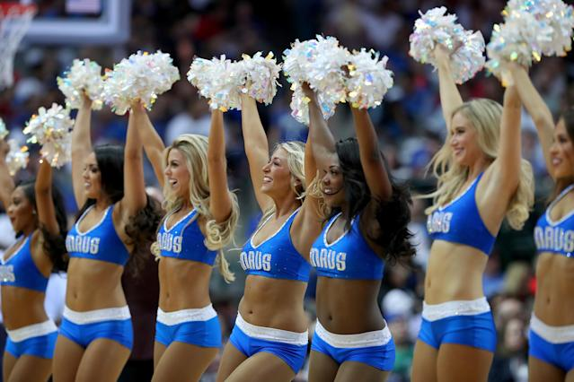 "The <a class=""link rapid-noclick-resp"" href=""/nba/teams/dal"" data-ylk=""slk:Dallas Mavericks"">Dallas Mavericks</a> Dancers have ordered new uniforms and will embrace ""more wholesome routines"" next season. The shift is part of the effort to clean up the organization after multiple scandals earlier this year. (Getty Images)"