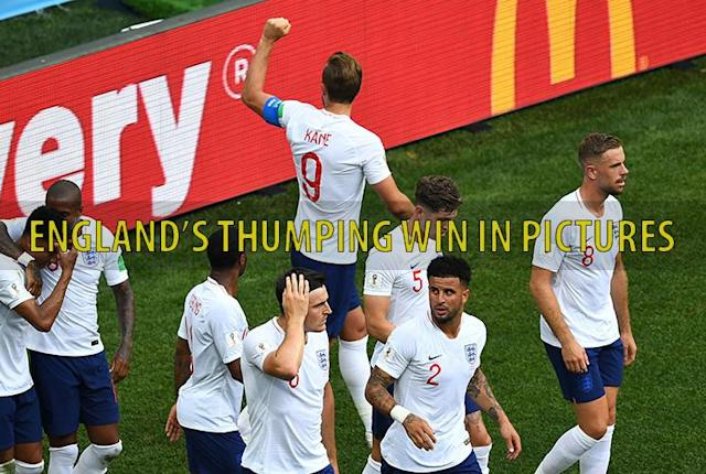 England roar into World Cup knockout stages after Harry Kane nets hat-trick in rout of Panama