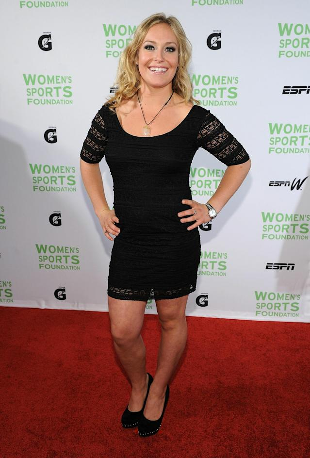 NEW YORK - OCTOBER 12: Professional snowboarder Jamie Anderson attends the 32nd Annual Salute to Women in Sports gala at The Waldorf=Astoria on October 12, 2010 in New York City. (Photo by Bryan Bedder/Getty Images)
