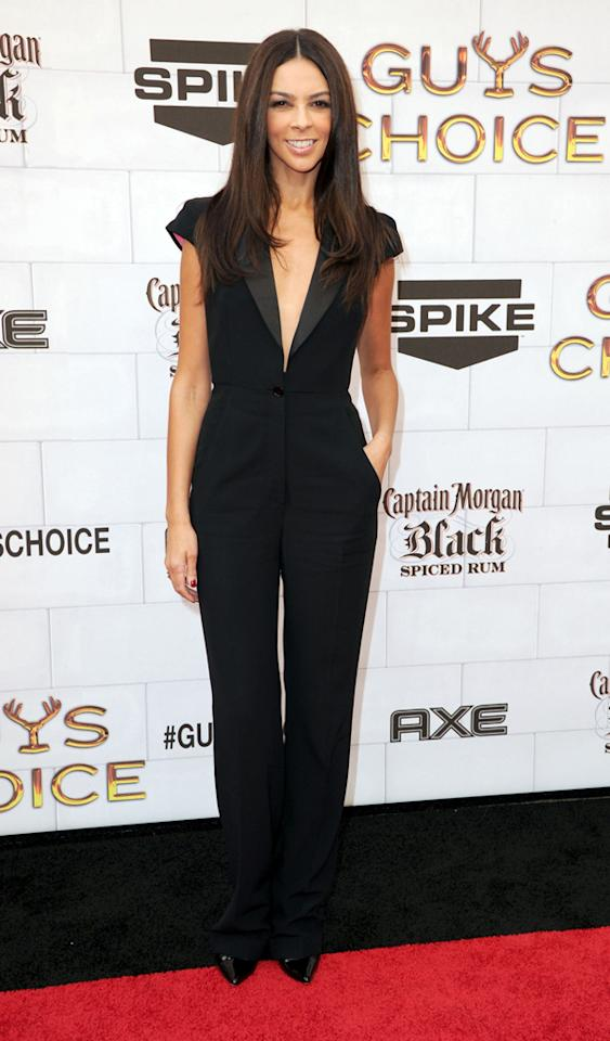 "Terri Seymour attends Spike TV's 6th Annual ""Guys Choice"" Awards at Sony Studios on June 2, 2012 in Los Angeles, California."