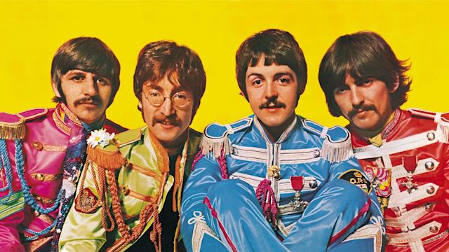 The gatefold to the Beatles' 'Sgt. Pepper's Lonely Hearts Club Band'