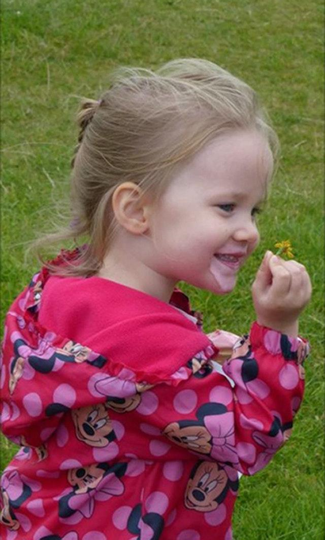 Violet-Grace Youens was killed in a road accident
