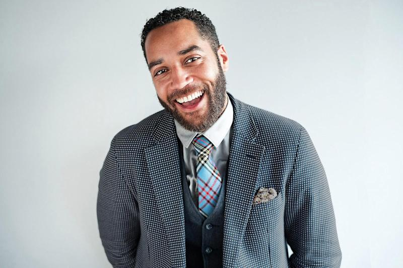 New role: Samuel Anderson star in Channel 4's new comedy drama: Matt Writtle