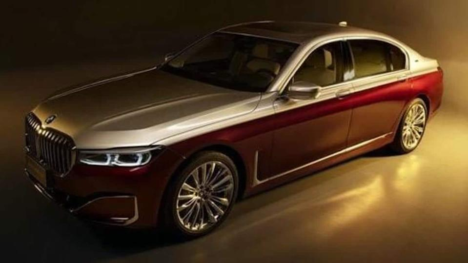 Limited-run BMW 7 Series Shining Shadow Special Edition car unveiled