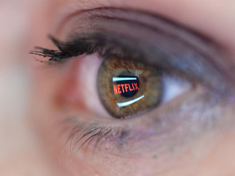Netflix is now a hugely successful global streaming service: Getty
