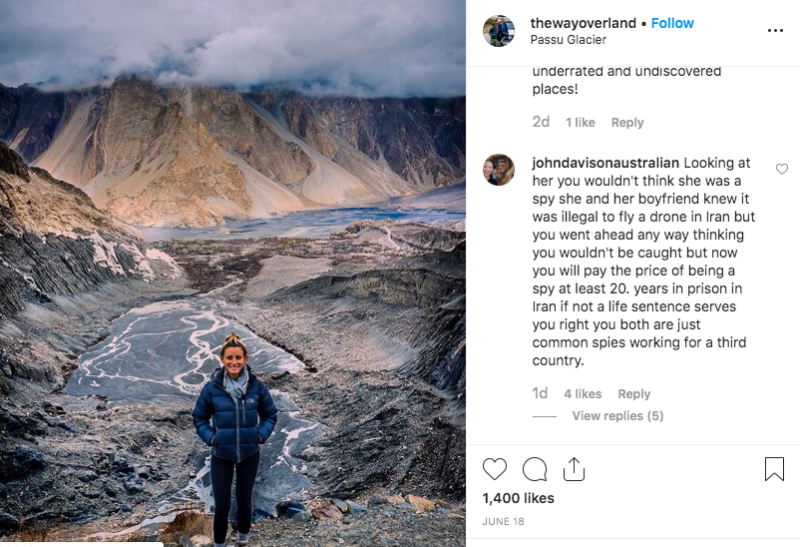 Their travels are documented on various forms of social media under the name, The Way Overland. (Instagram)