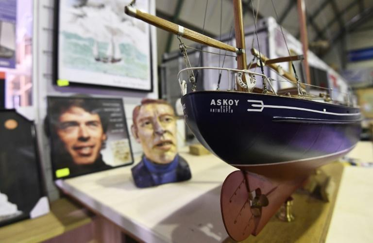 Askoy memorabilia. Questions over Brel's 1970s voyage on the sailboat are at the heart of a new documentary directed by his daughter