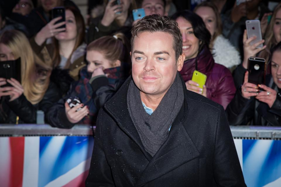 """Stephen Mulhern poses for photographers upon arrival at a photo call for """"Britain's Got Talent"""" in London, Friday, Jan. 22, 2016. (Photo by Vianney Le Caer/Invision/AP)"""
