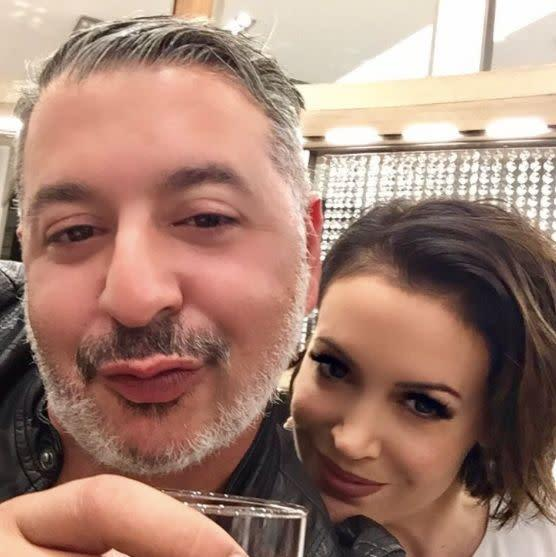 Alyssa Milano took to Twitter to support her friends. <br><br>&quot;My best friend Alaa Mohammad Khaled is Muslim His parents were Palestinian refugees His brother is DJ Khaled RefugeesWelcome&quot;