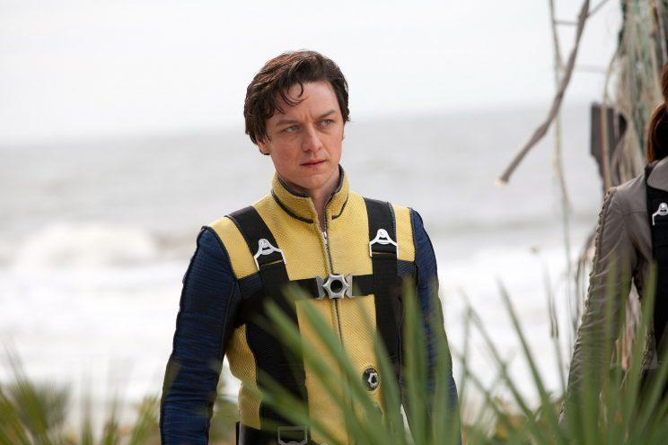 James McAvoy in his first appearance as Professor X in X-Men: First Class (Photo: Everett Collection)