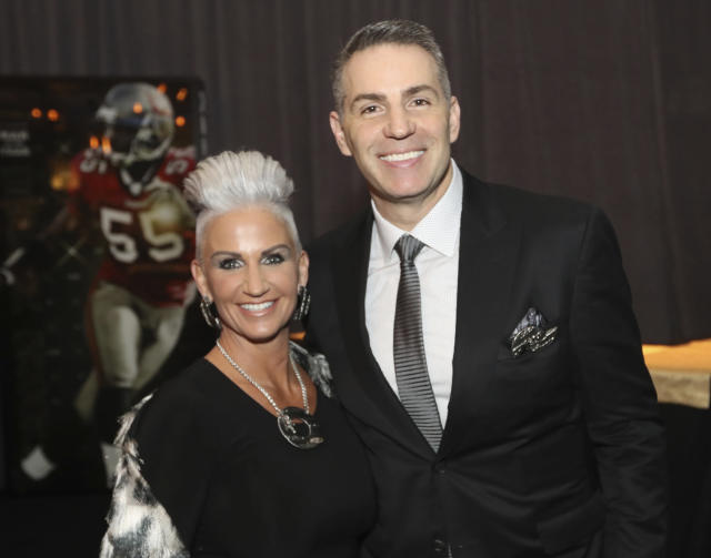 Kurt and Brenda Warner think they can create a legacy that goes beyond winning the Super Bowl. (AP Photo)