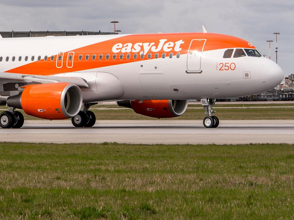 Flight plan? easyJet is waiting to find which nations are on the 'green list' (easyJet)