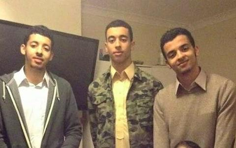 The Abedi brothers at home in Manchester  - Credit: Josie Ensor for The Telegraph
