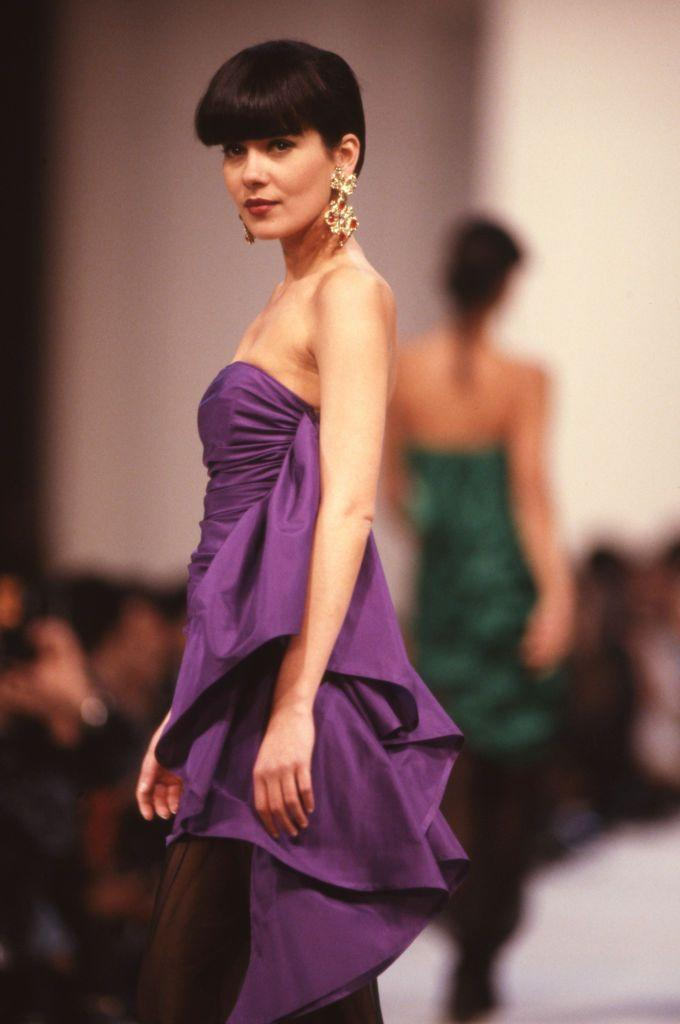 <p>Long before Gisele Bündchen and Alessandra Ambrosio stomped down the runway, Cristina Córdula was the original Brazilian beauty dominating the fashion world. Already known in her native country for appearing in advertisements, Córdula was catapulted to the international stage after taking a friend's suggestion and chopping off her hair. The look garnered the attention of the leading maisons, and she soon became a fixture at shows for Chanel, Christian Dior, and Yves Saint Laurent. </p>