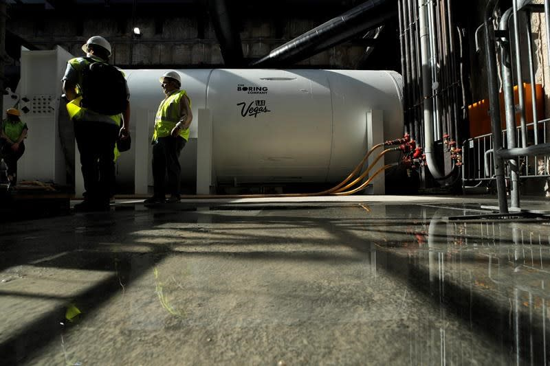 Drilling begins for Las Vegas Convention Center people mover