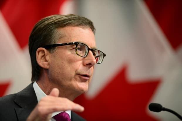 Governor of the Bank of Canada Tiff Macklem holds a press conference at the Bank Of Canada in Ottawa on Wednesday, Oct. 28, 2020. In his Sept. 8, 2021 update, he is widely expected to announce that rates will remained unchanged. (Sean Kilpatrick/The Canadian Press - image credit)