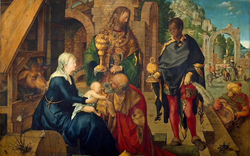 Adoration of the Magi by Albrecht Durer 1504