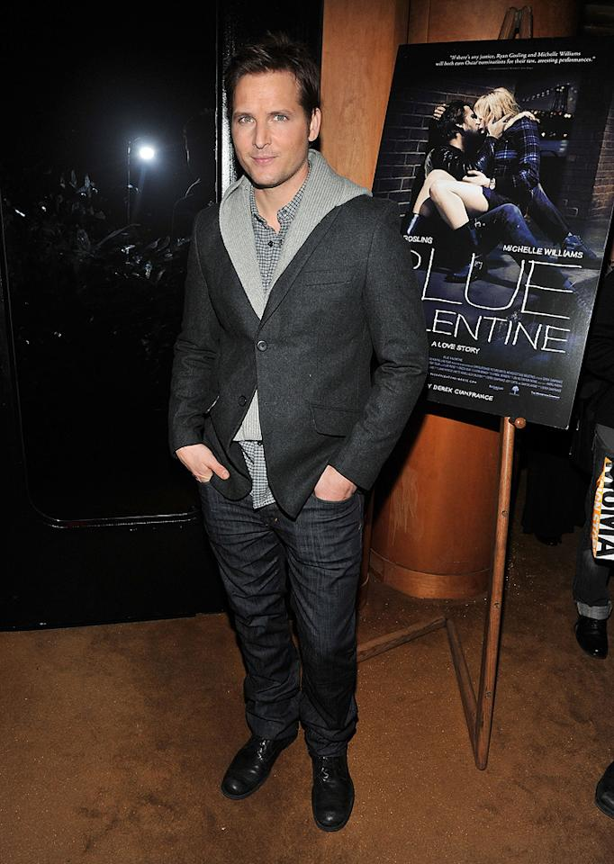 "<a href=""http://movies.yahoo.com/movie/contributor/1800018788"">Peter Facinelli</a> attends the New York premiere of <a href=""http://movies.yahoo.com/movie/1809945752/info"">Blue Valentine</a> on December 7, 2010."