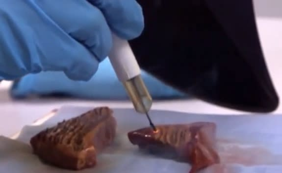 Surgical Knife May Sniff Out Cancer