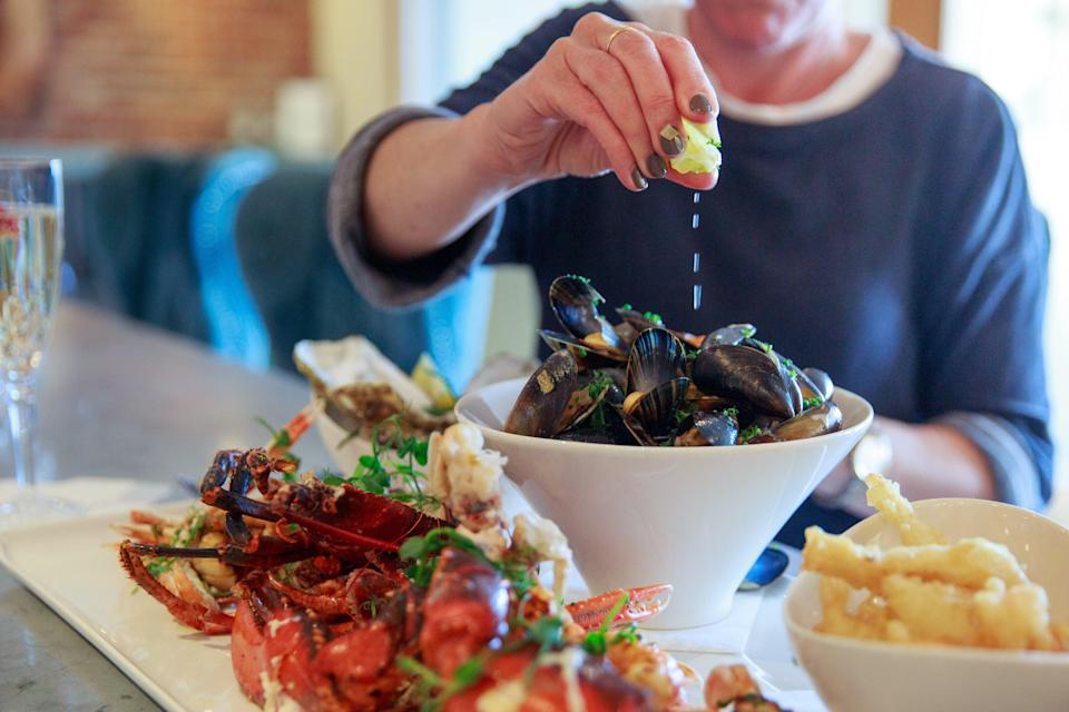 The legendary seafood platter at Cattle and CreelCattle and Creel