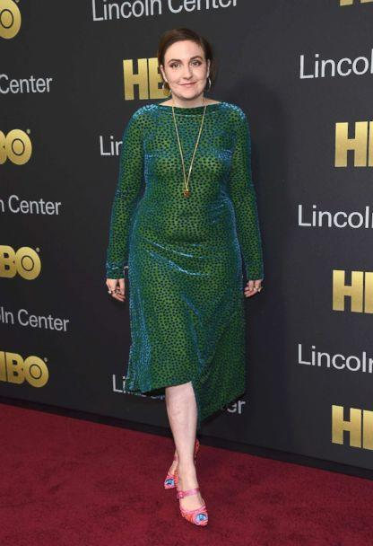PHOTO: Lena Dunham attends the 2018 Lincoln Center American Songbook gala honoring HBO's Richard Plepler at Alice Tully Hall, Lincoln Center, May 29, 2018, in New York City. (Gary Gershoff/Getty Images)