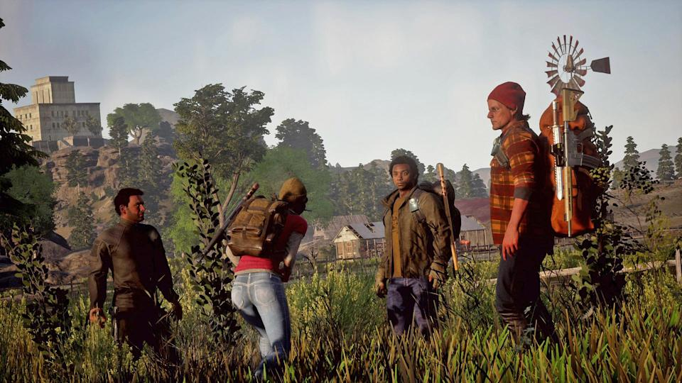 'State of Decay 2' will see you and three survivors take on zombies. But you'll need to use your brains if you're going to keep them safe.