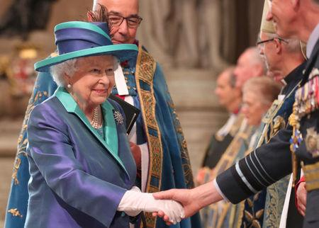 Queen pays tribute to mark 100 years of Britain's Royal Air Force