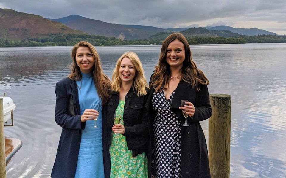 Lizzie and friends in the Lakes