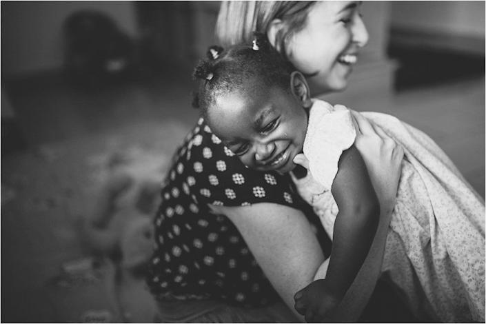 """""""After learning the corrupt side of international adoption, the Bridgers family found Mwana Villages, a holistic and ethical family organization in the Republic of the Congo. When the Bridgers learned that Mwana Villages first seeks to support the birth family and keep children in theirfamily of origin they knew this was an organization they could trust. <a href=""""https://www.youtube.com/watch?v=3Kl4f6p5uj0"""" target=""""_blank"""">They set out to adopt two children</a> who they researched and found to be truly in need of adoption.""""<br /><br /><i>Photo by Whitney Runyon of The Archibald Project, an orphan care advocacy organization using media to eliminate the orphan crisis, one story at a time. You can follow<a href=""""http://www.thearchibaldproject.com"""" target=""""_blank"""">The Archibald Project</a>on<a href=""""https://www.instagram.com/thearchibaldproject/"""" target=""""_blank"""">Instagram</a>,<a href=""""https://www.facebook.com/TheArchibaldProject/"""" target=""""_blank"""">Facebook</a>and<a href=""""https://www.youtube.com/channel/UCM32JmlLuOH8PaeuL59znbQ"""" target=""""_blank"""">YouTube</a>.</i>"""