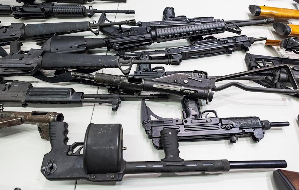 California Assault Weapons (Copyright 2021 The Associated Press. All rights reserved.)