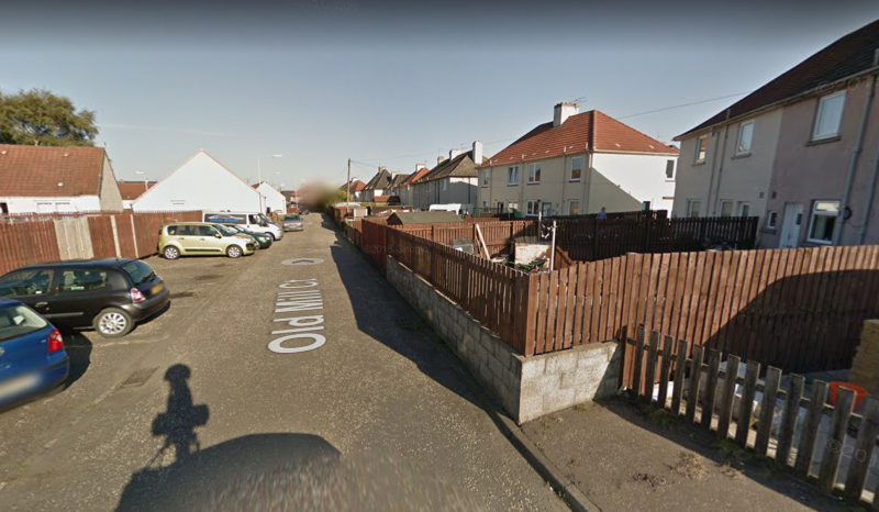 Old Mill Court in Leven, where the attack took place (Picture: Google Maps)