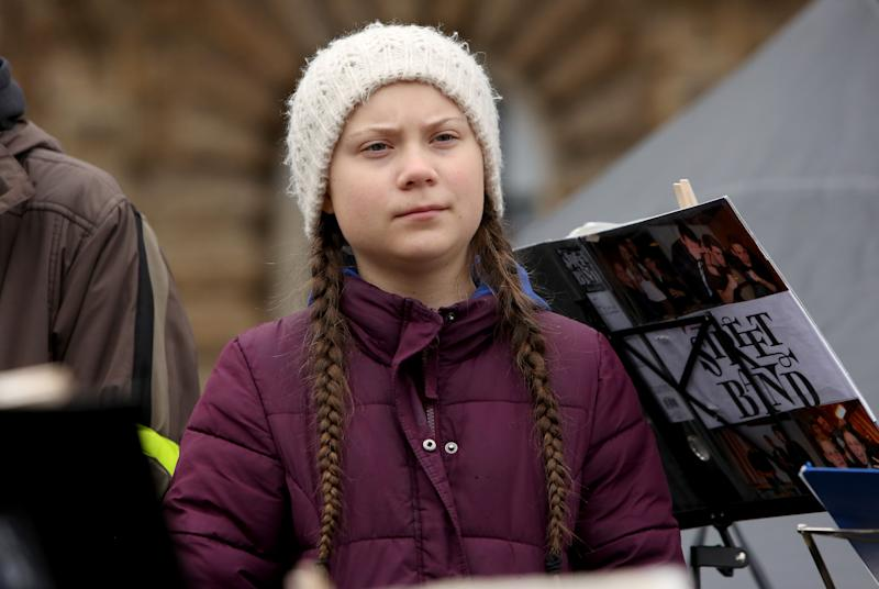 Trotz Favoritenrolle erhielt Greta Thunberg den Friedensnobelpreis nicht (Symbolbild: Adam Berry/Getty Images)