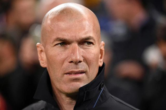 Zinedine Zidane's Real Madrid play at home to Athletic Bilbao on Sunday (AFP Photo/JOSE JORDAN)