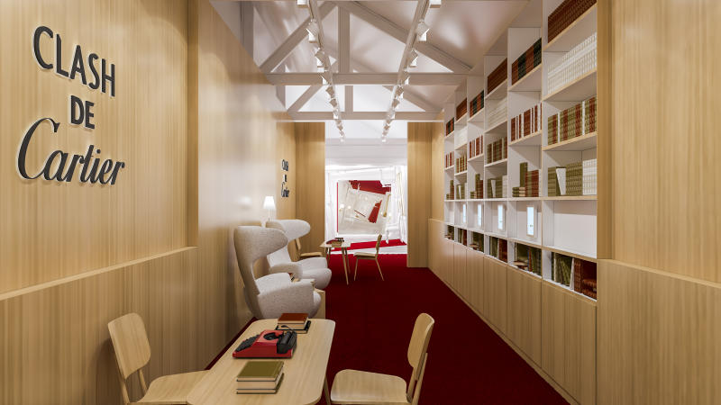 The Bookstore. (PHOTO: Cartier)