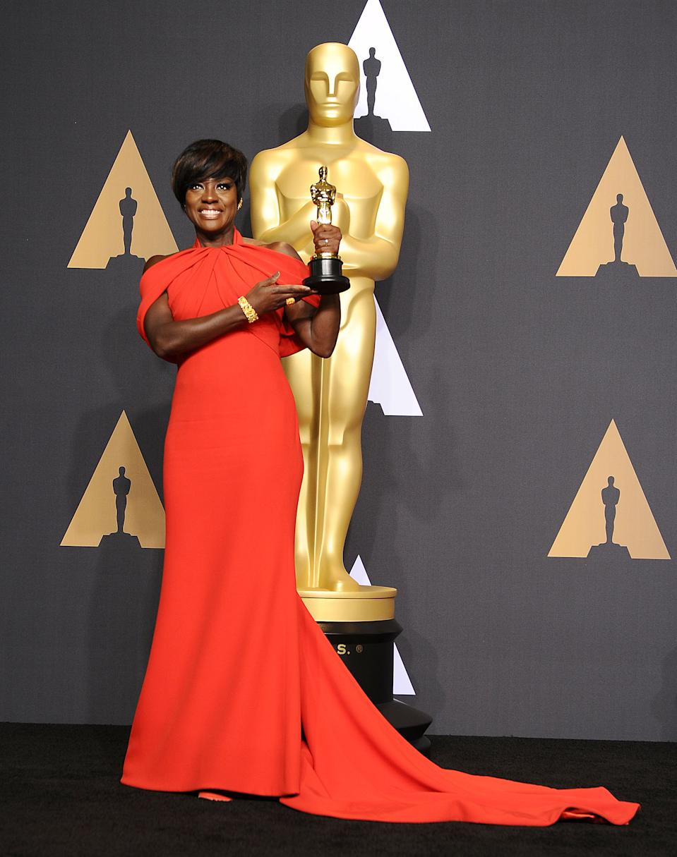 <p>Oscar prognosticators suggest this could be the most diverse foursome of acting winners ever, with Viola Davis expected to win in 2021 for <em>Ma Rainey's Black Bottom</em> after winning in 2017 for <em>Fences</em>. (Jason LaVeris/FilmMagic)</p>