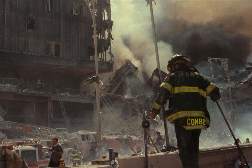 """<strong><em>Turning Point: 9/11 and the War on Terror </em></strong><br><br>Twenty years after the event, a new five-part docuseries is examining the September 11th attacks on the World Trade Center in New York. Giving personal perspectives on the history-defining moment, the series chronicles the actions leading up to the attacks, offering a new look at an event that changed America – and the world. <br><br>Available 1st September<span class=""""copyright"""">Photo Courtesy of Netflix.</span>"""