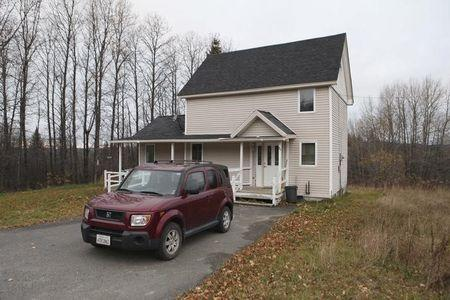 The home of Theodore Wilbur, boyfriend of Kaci Hickox, the nurse who was released from New Jersey's mandatory quarantine for certain travelers from Ebola-stricken West Africa, is seen in Fort Kent